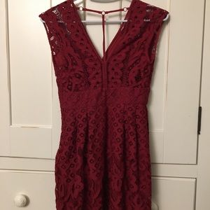 Red Free People Dress!